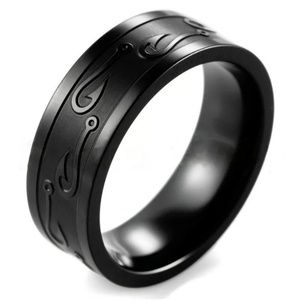 Other - Stainless Steel Rings w/ Fishhook Design